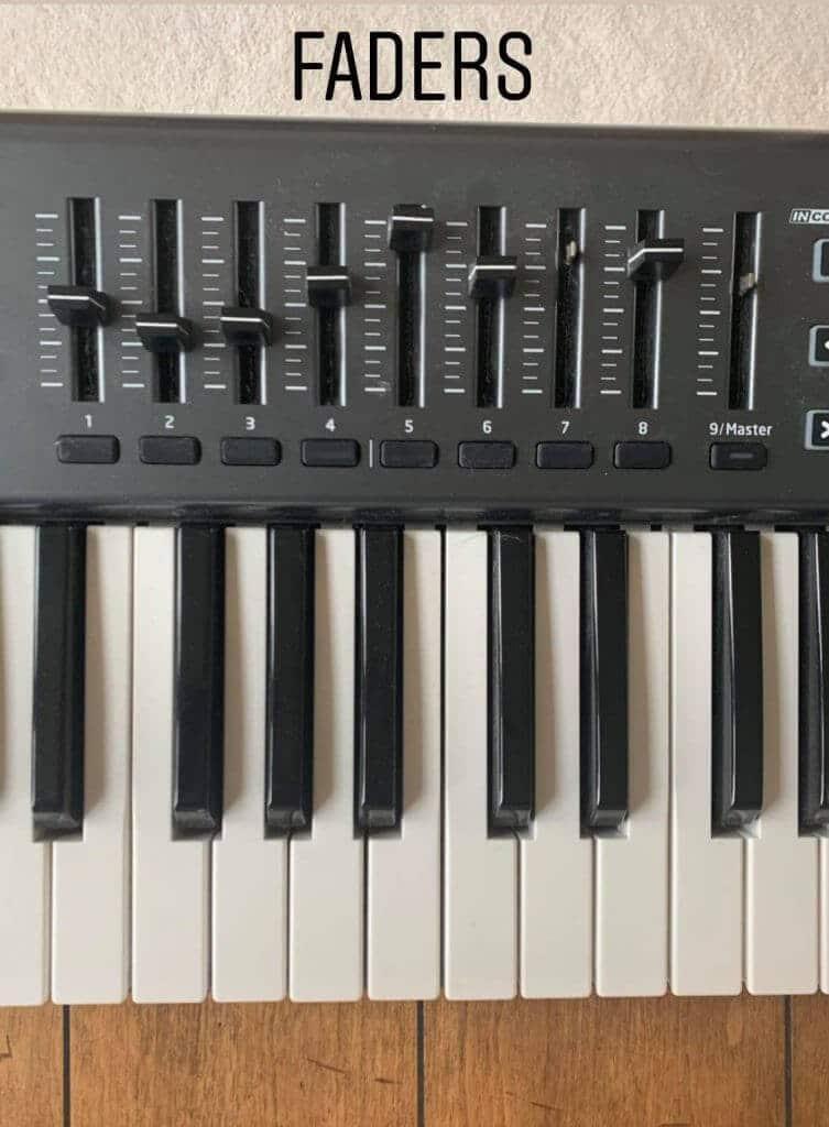 Keyboard Faders