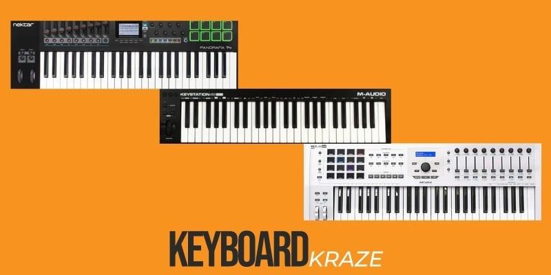 49 Key MIDI Keyboards Review
