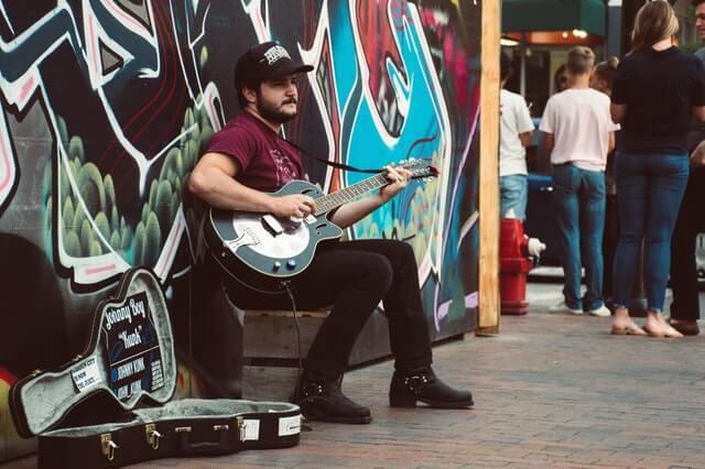 street performer