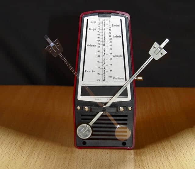 Korg DM3 metronome