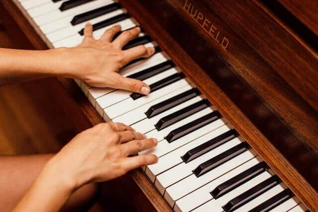 Learning To Play Piano On Keyboard