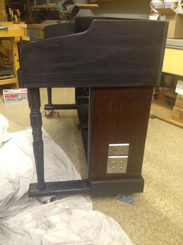 DIY Acoustic Piano Stand