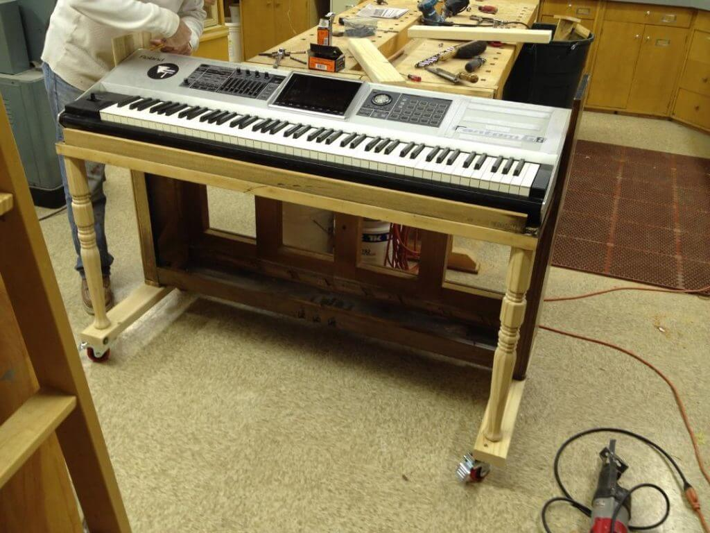Piano Shell For Digital Pianos