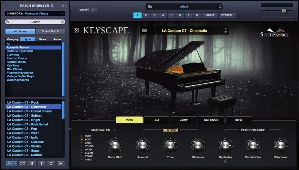 Keyscape Interace