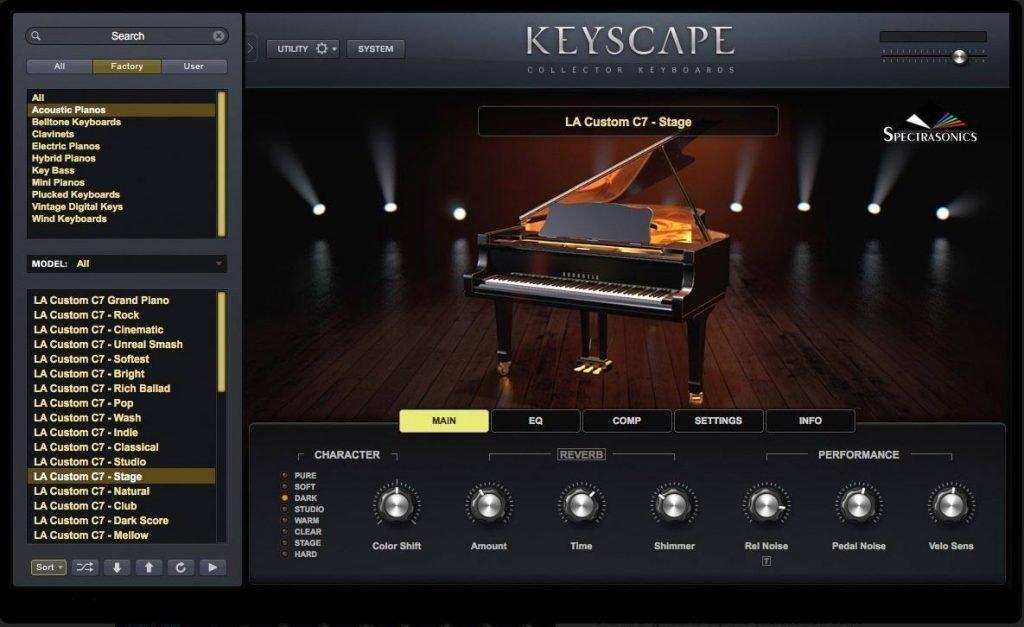 Keyscape Sound Design