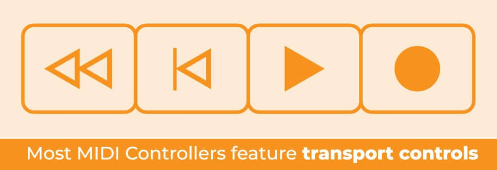 MIDI Controller Transport Controls