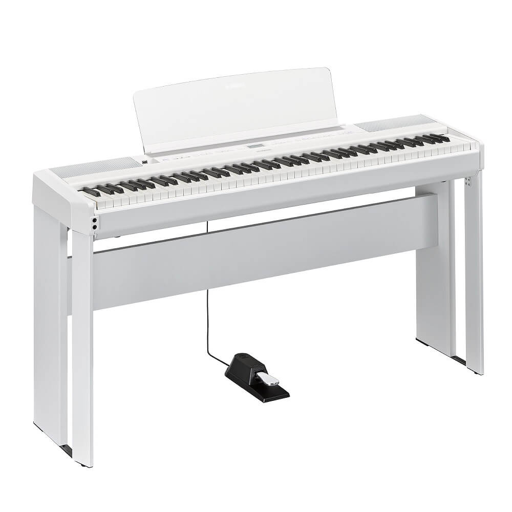 Yamaha P515 with stand and sustain pedal