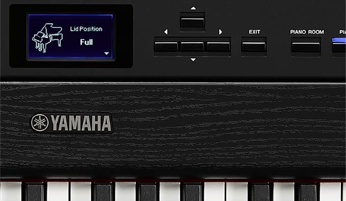 Yamaha P515 Lid Positions