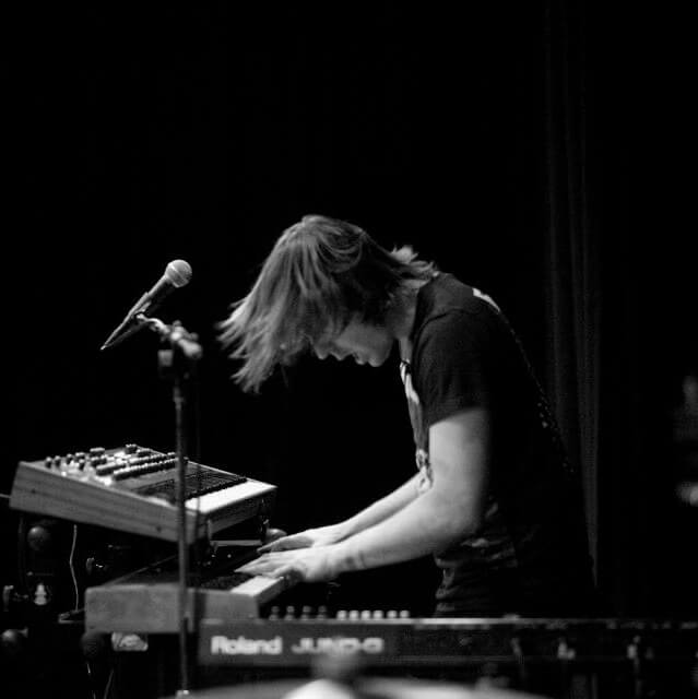 Nick Stein Playing Keyboards