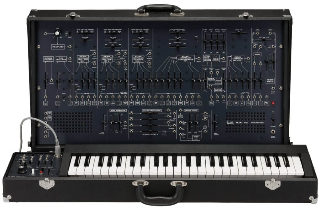 above view of arp 2600 fs