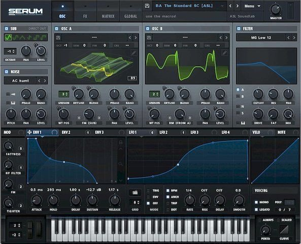 Interface Of Serum