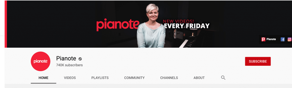 Pianote Youtube