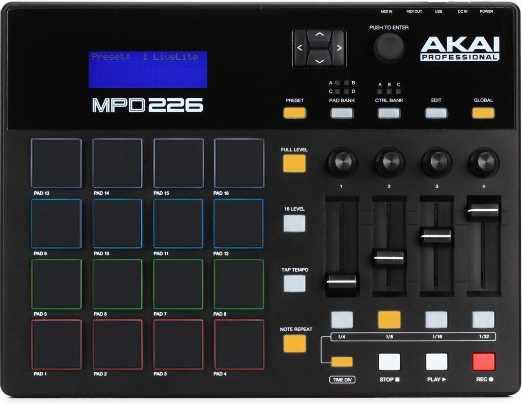 MPD226 MIDI Controller