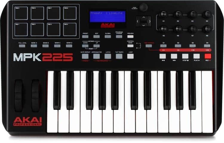 MPK225 controller